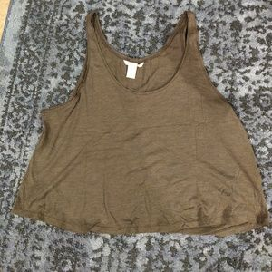 H&M loose crop tank